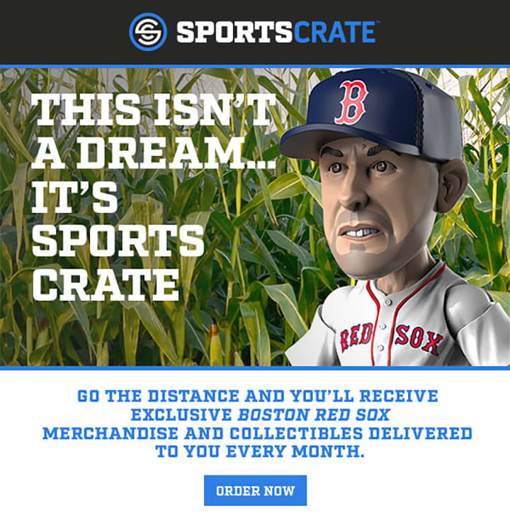 Copywriting for Sports Crate