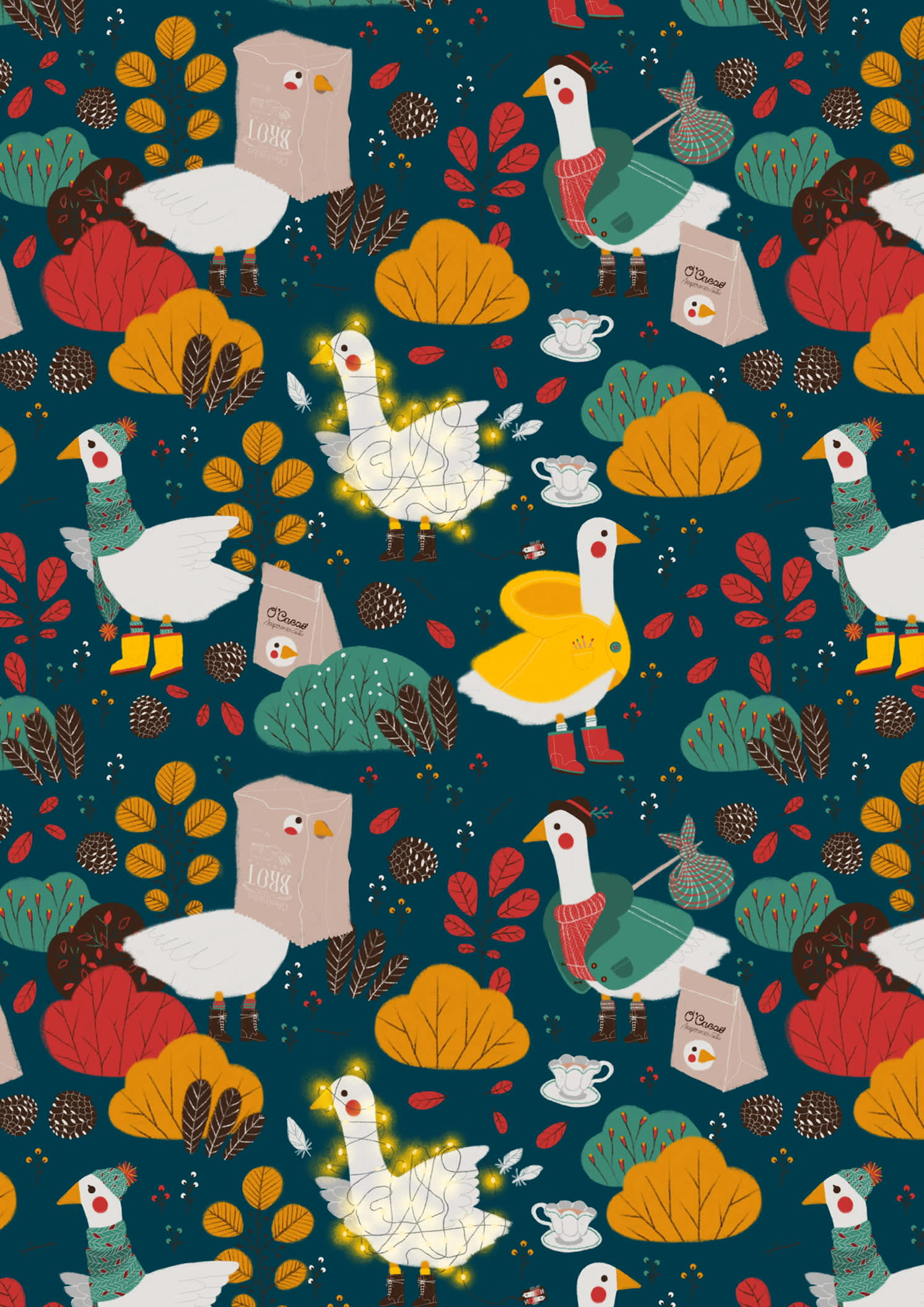 Silly goose pattern