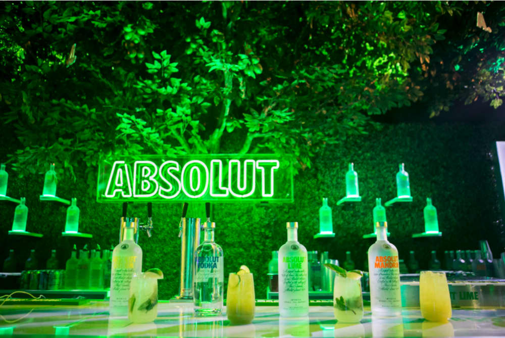 Absolut Lime at Coachella