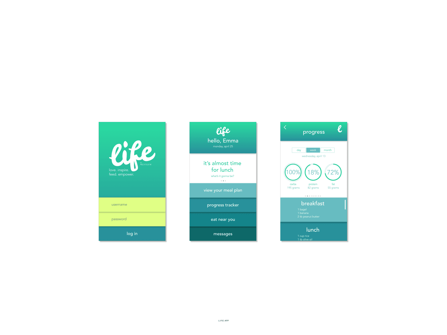 Various Web and App Designs