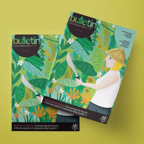 Bulletin Magazine Cover and Inside spots