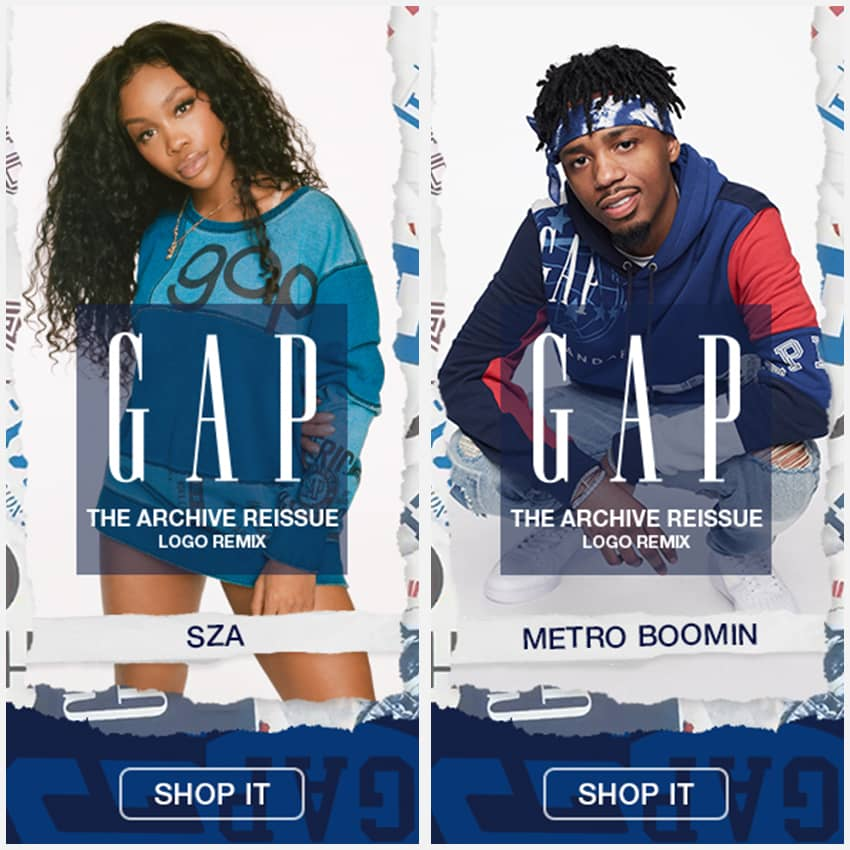 GAP — Logo Remix