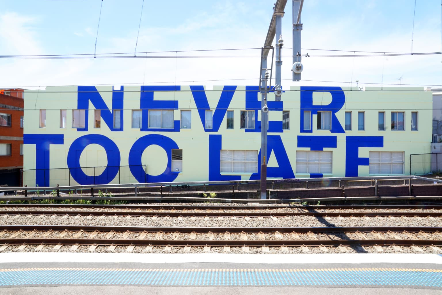 Never Too Late - Mural