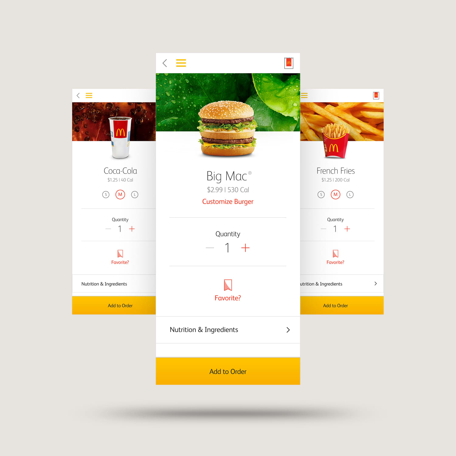 McDonald's Omni-Channel Digital Ordering Products