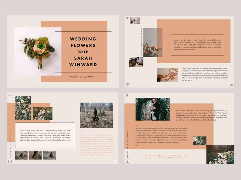 If I Made - Editorial Layouts