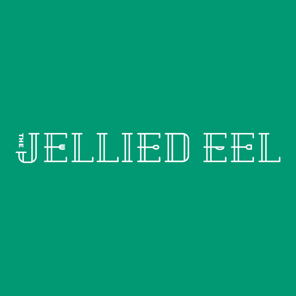 Visual identity design for The Jellied Eel magazine