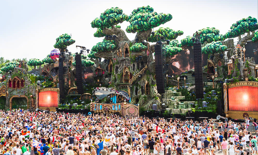 Tomorrowland 2016 Main Stage Design