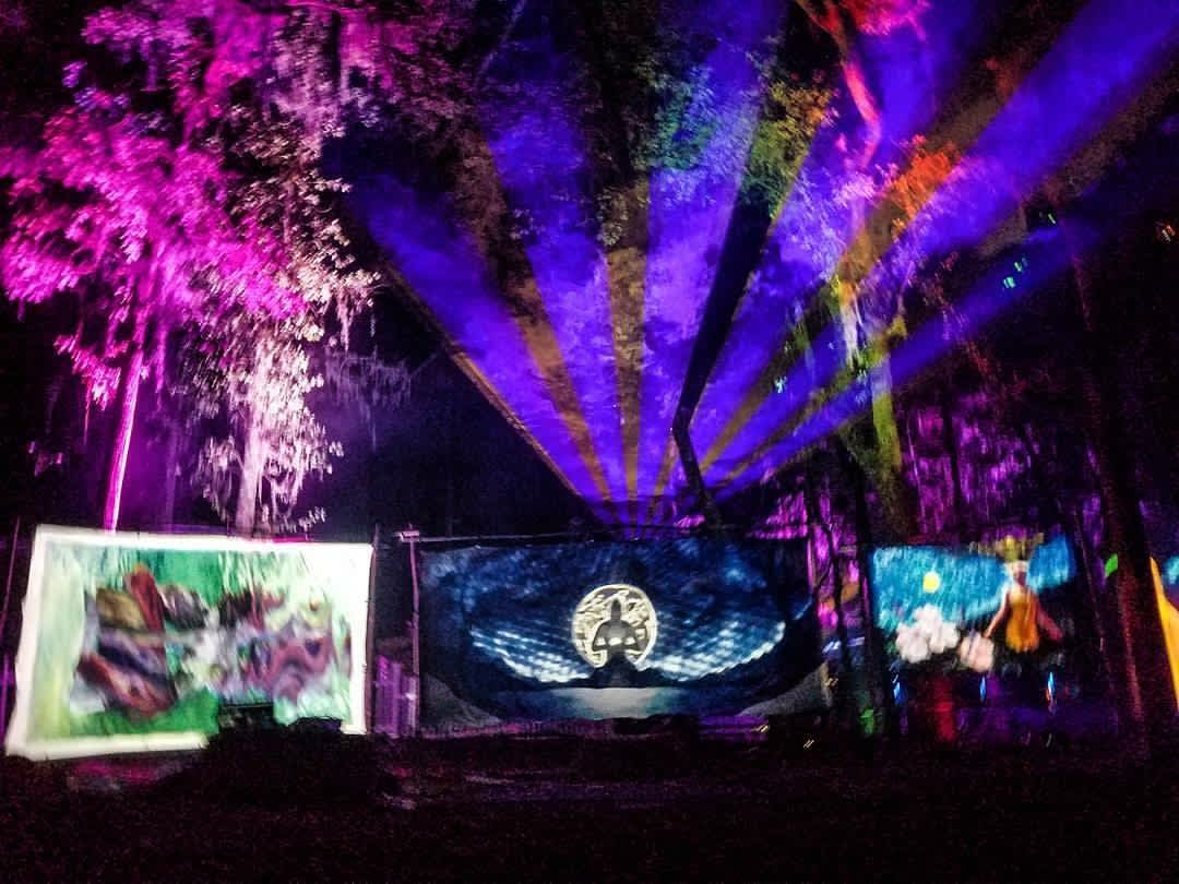 Because of the Lotus' Brainlaser at Suwannee Hulaween