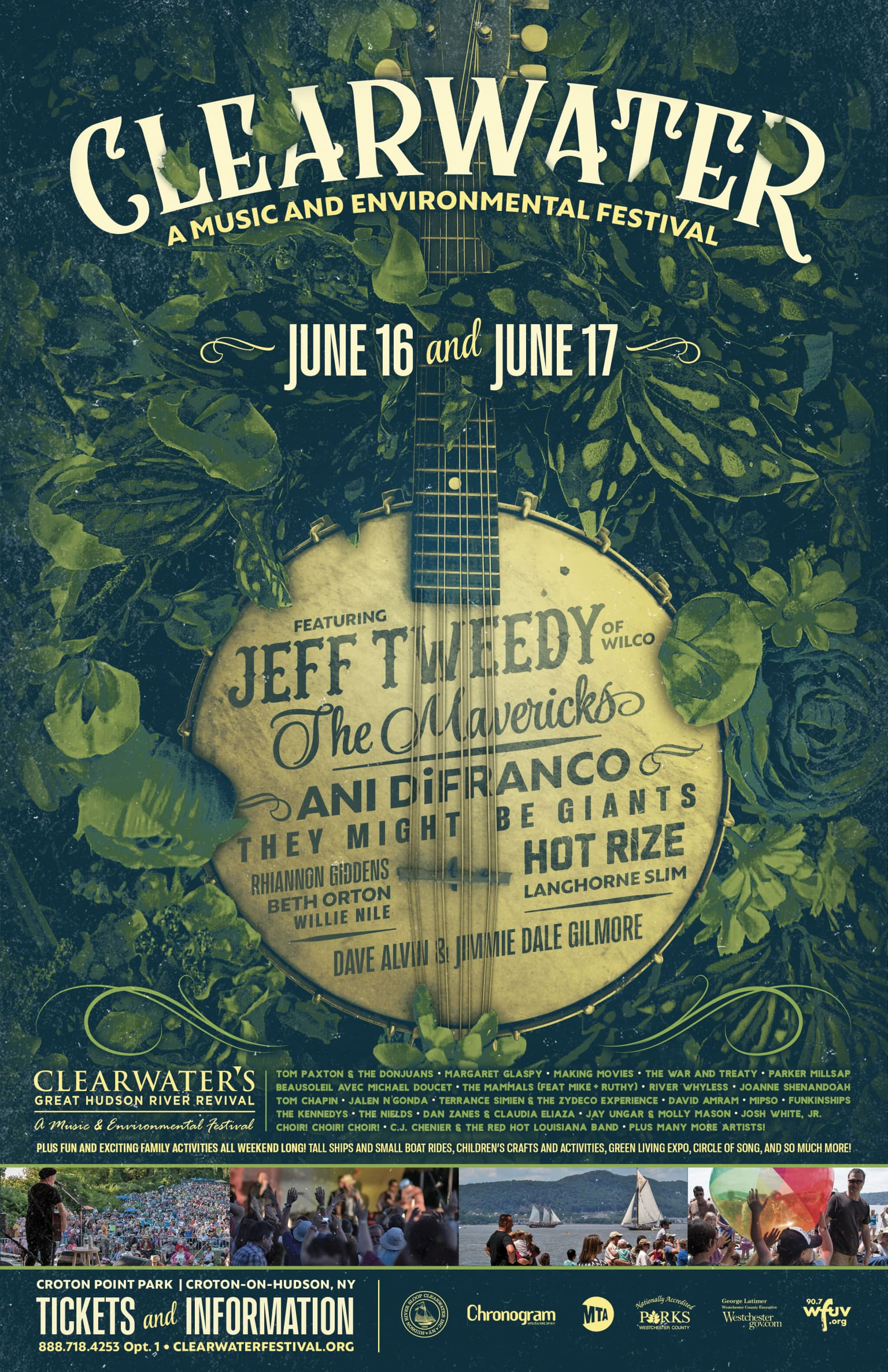 Clearwater Music Festival 2018 Poster