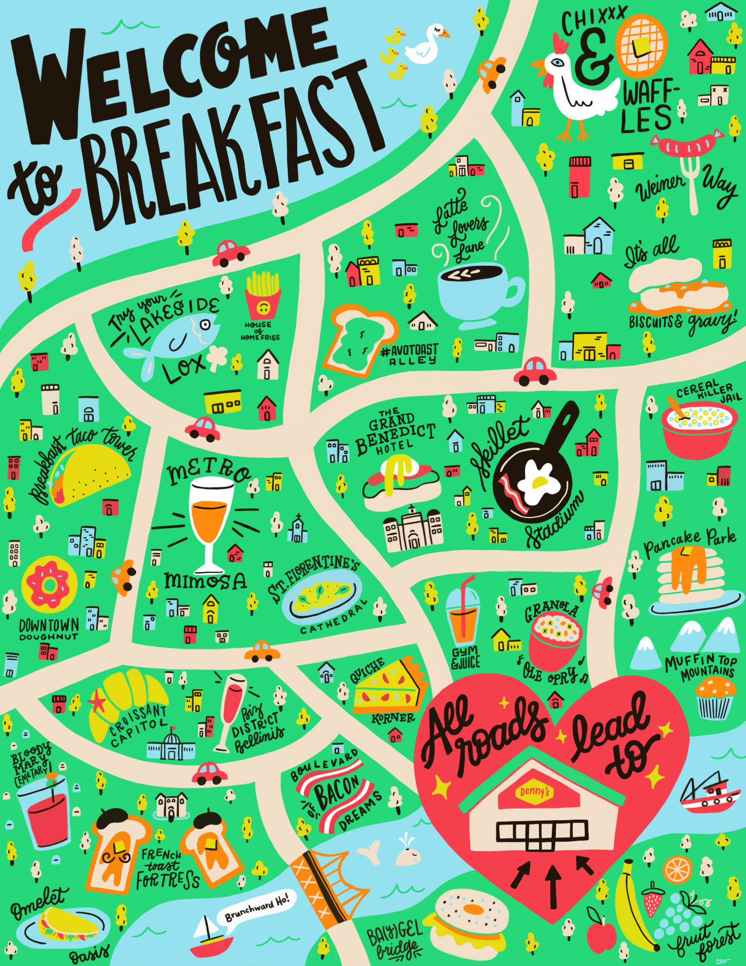 Breakfast Lover's City Guide