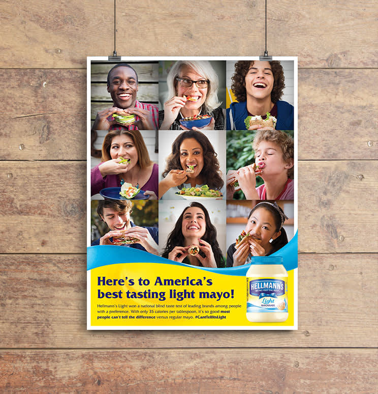 Hellmann's Light - Print Ad