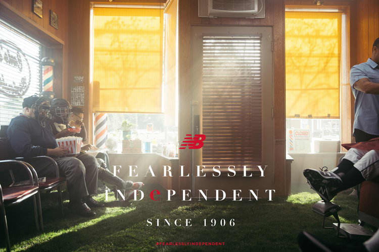 New Balance global brand anthem- Fearlessly Independent