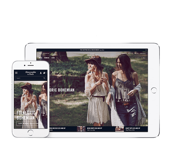 Abercrombie & Fitch Front-End Redesign