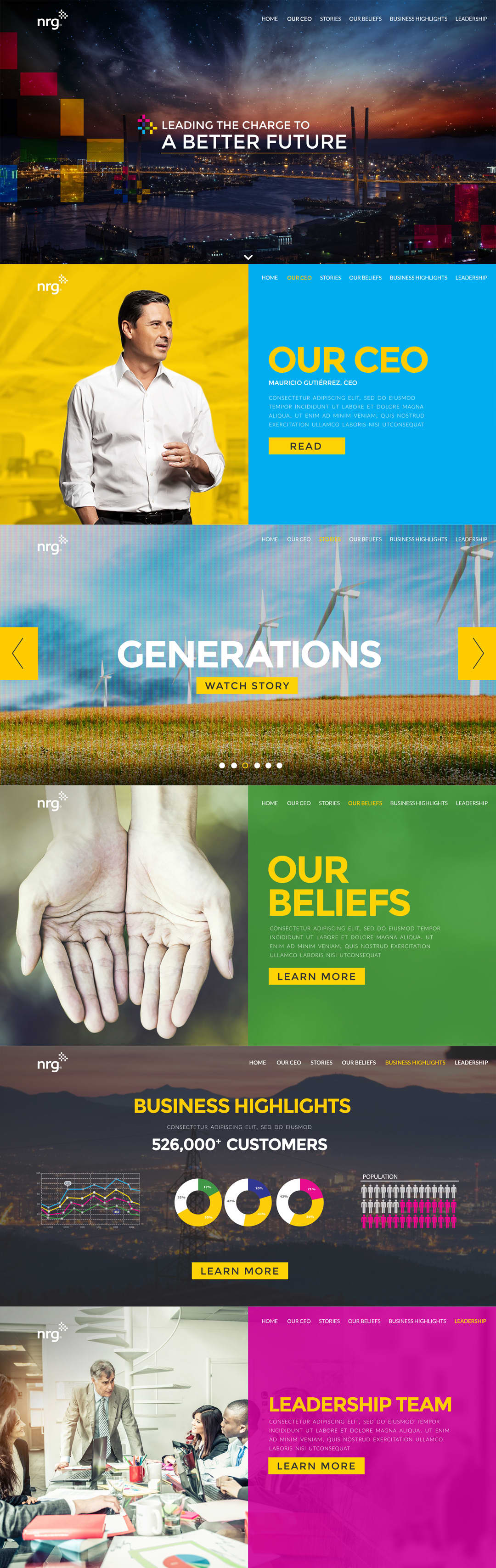 """NRG Energy """"Better Future"""" Campaign"""