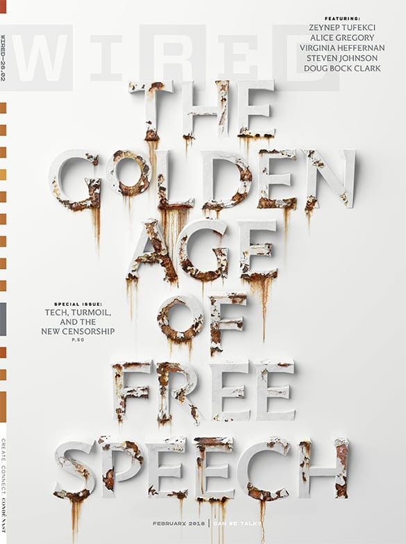 Wired Free Speech Cover