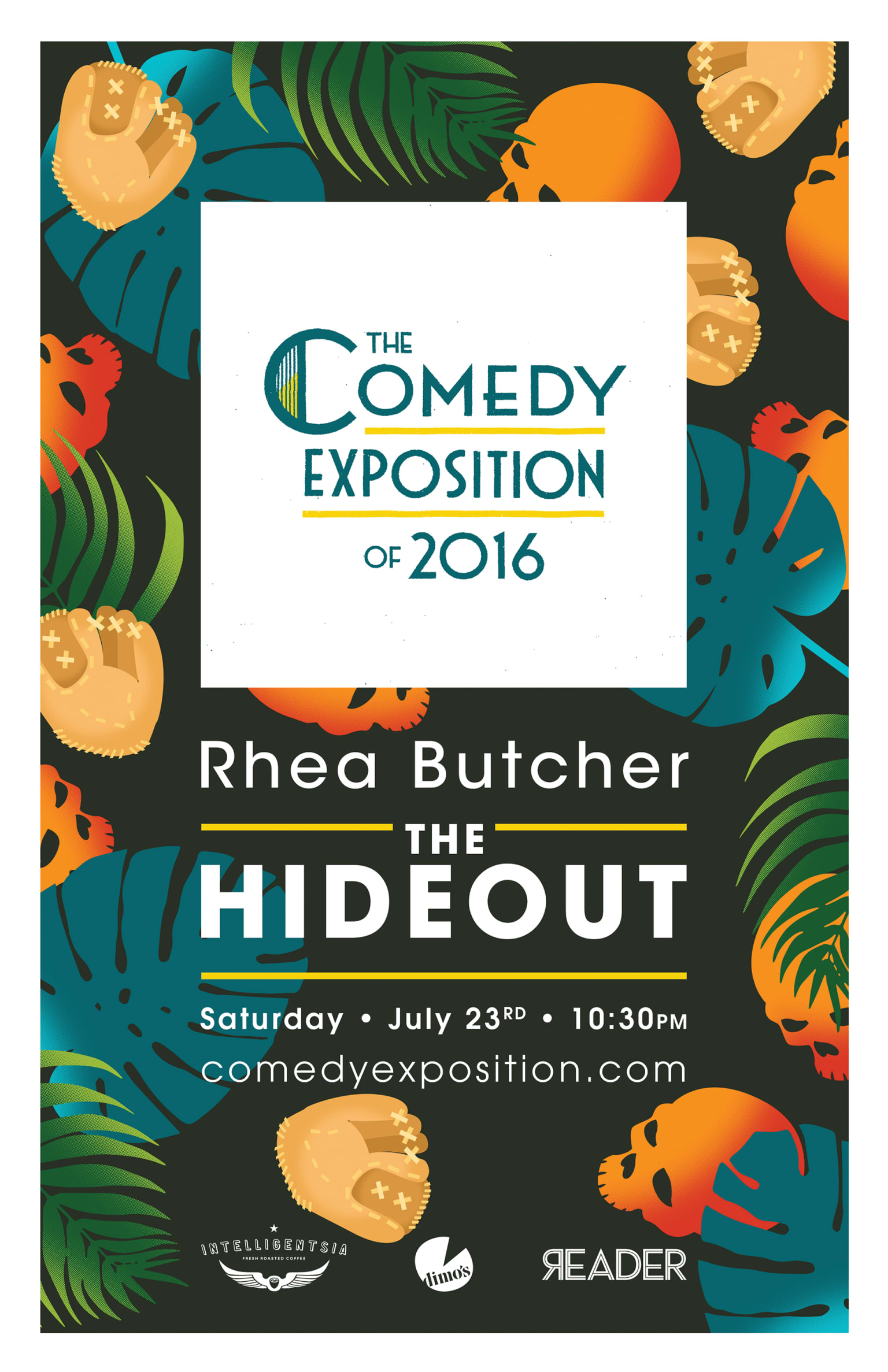 The Comedy Exposition Poster Series