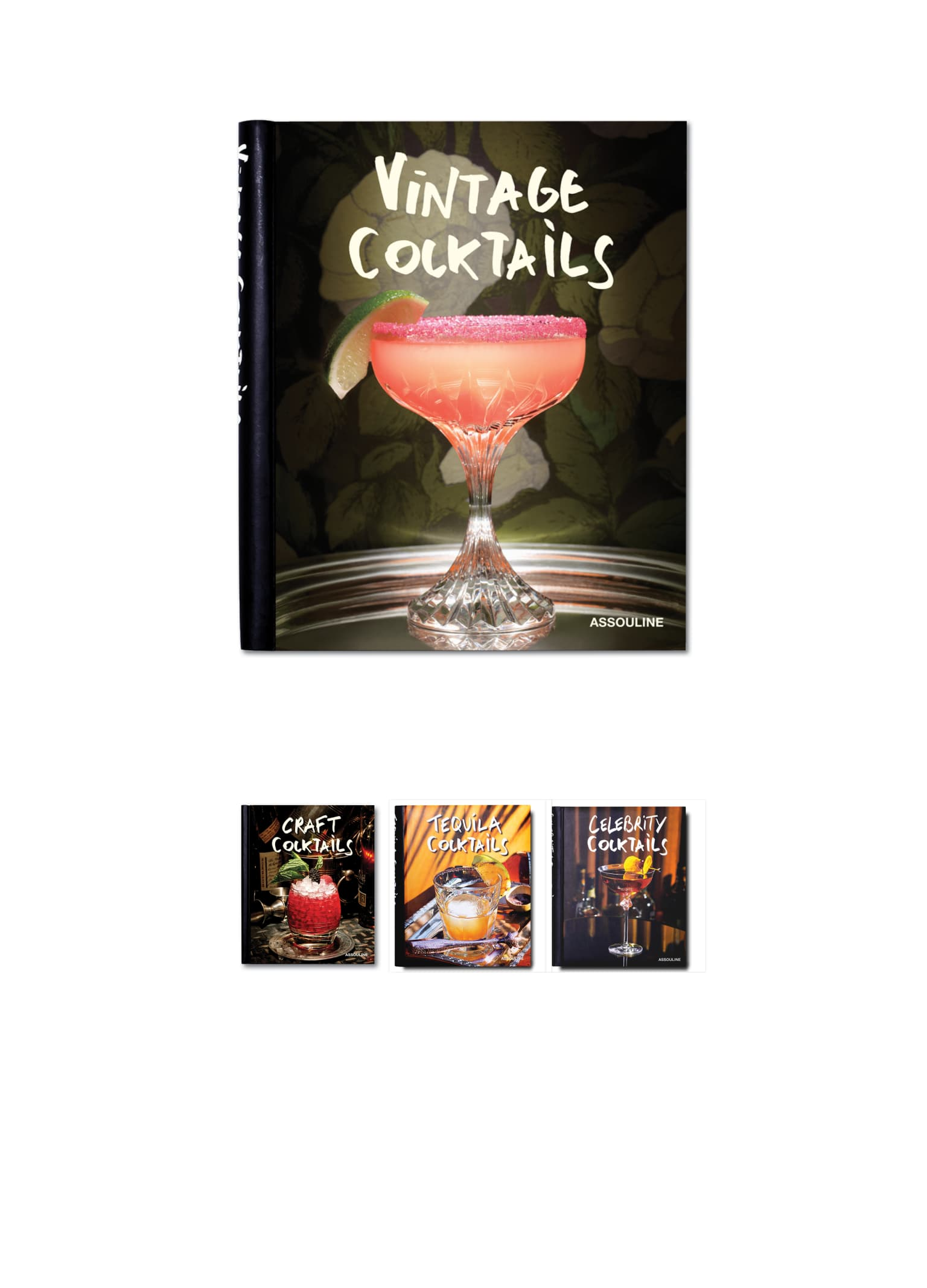 Awards winning Cocktail books collection