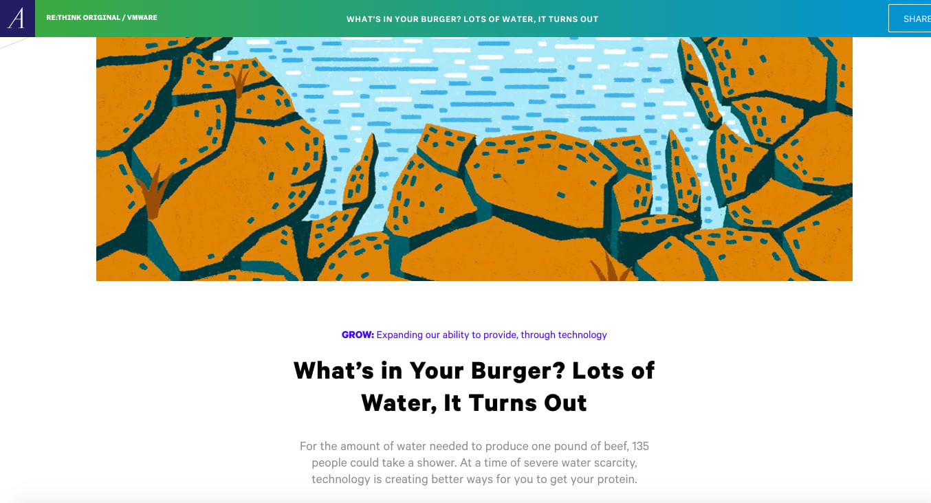 What's In Your Burger? Lots of Water It Turns Out