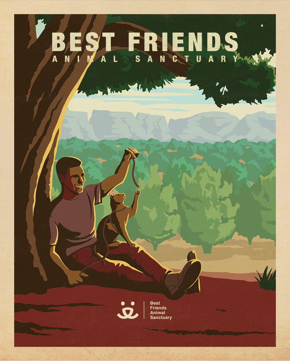Best Friends Animal Sanctuary - Print Campaign