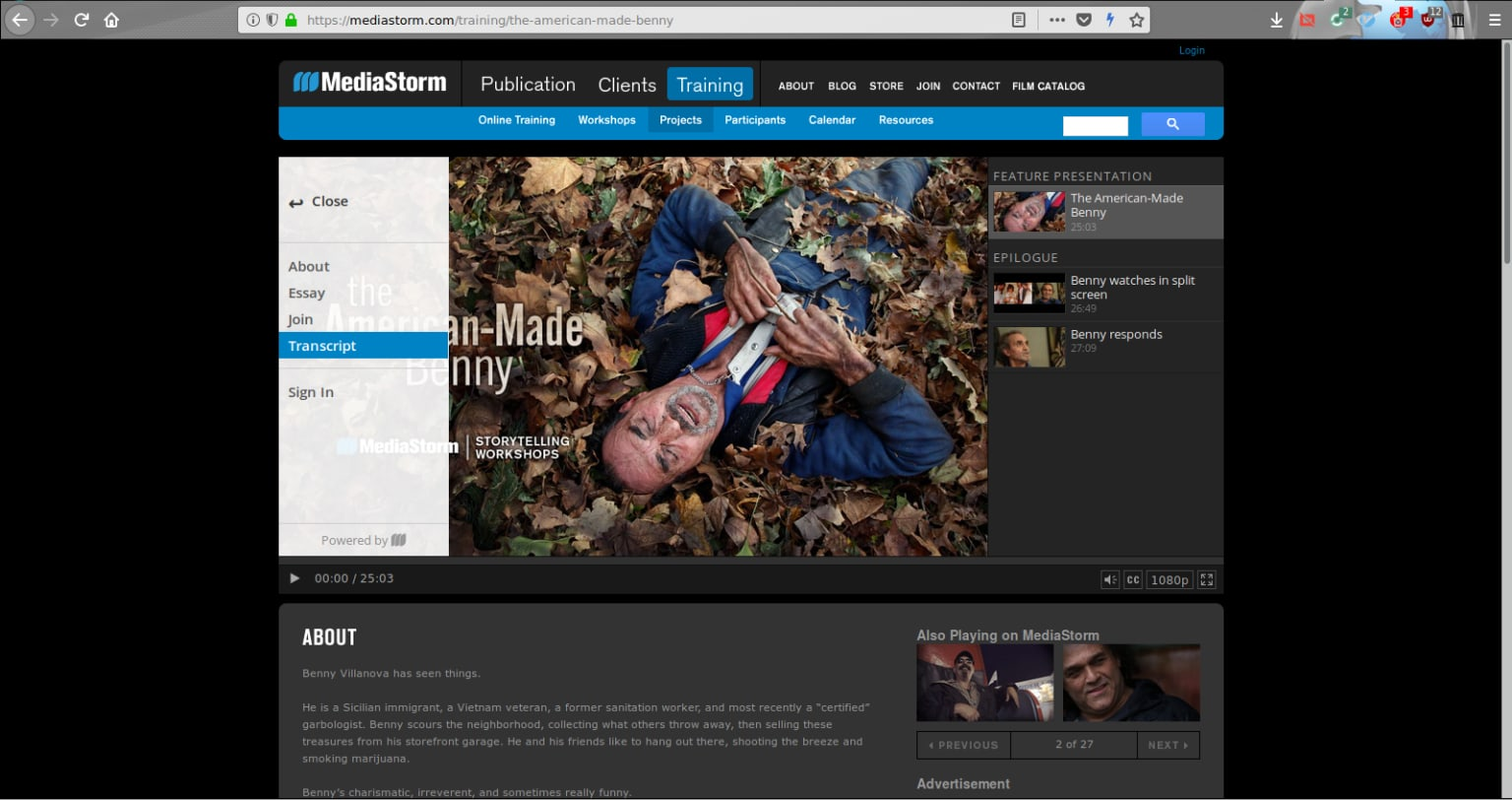 MediaStorm HTML5 Video Player