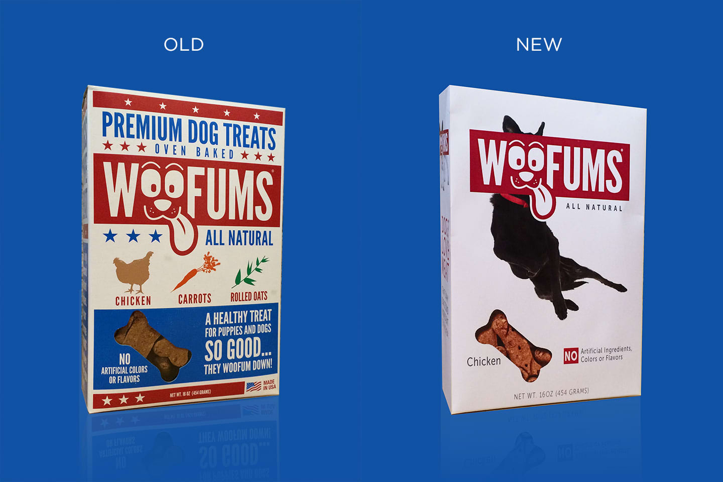 Woofums Package Redesign