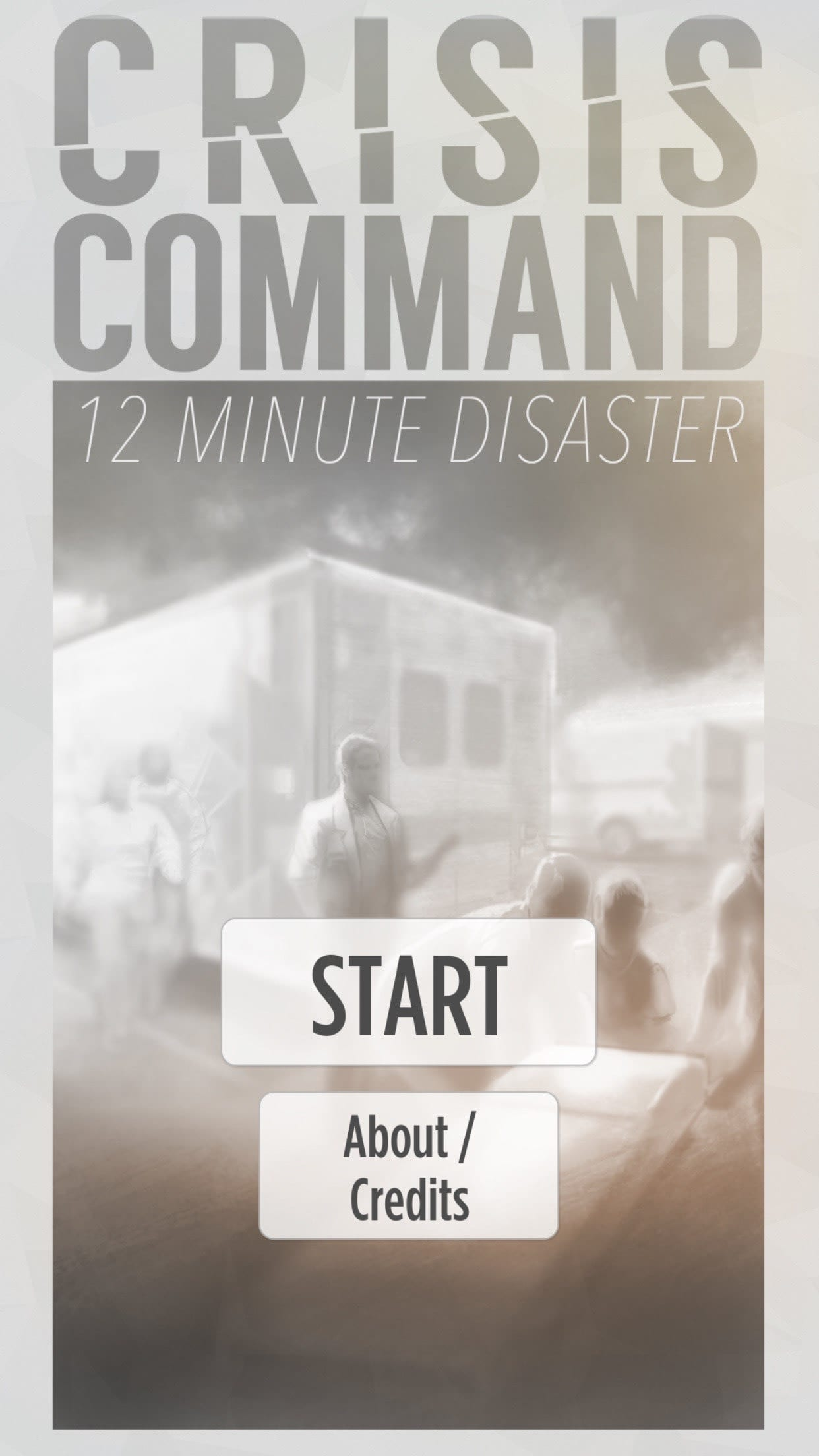 Crisis Command: 12 Minute Disaster
