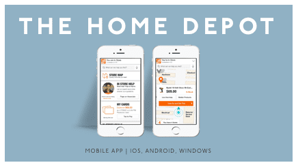 The Home Depot - Mobile App