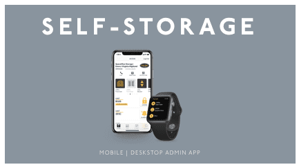 Self Storage - Mobile | Desktop Admin App