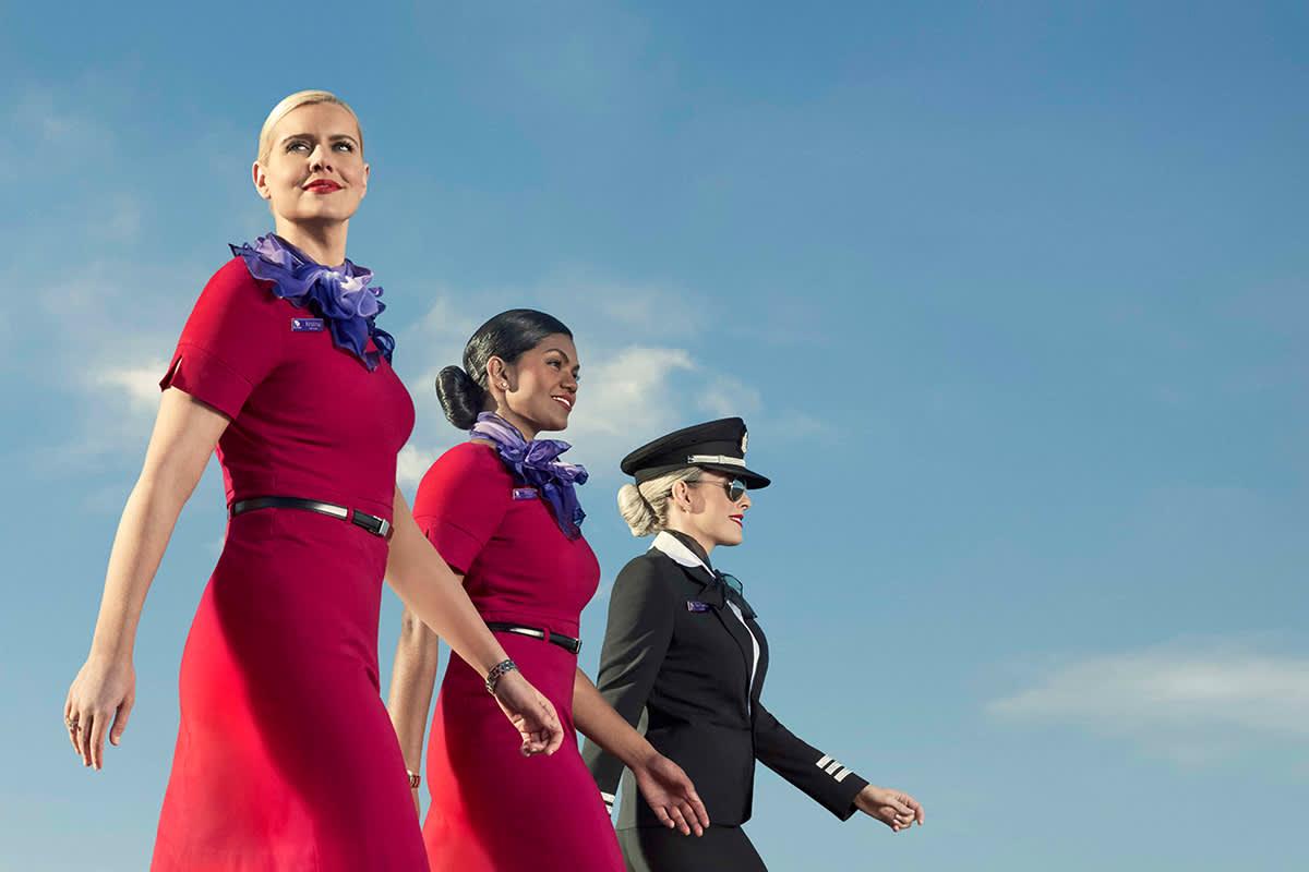 Virgin Australia - Here's to looking up