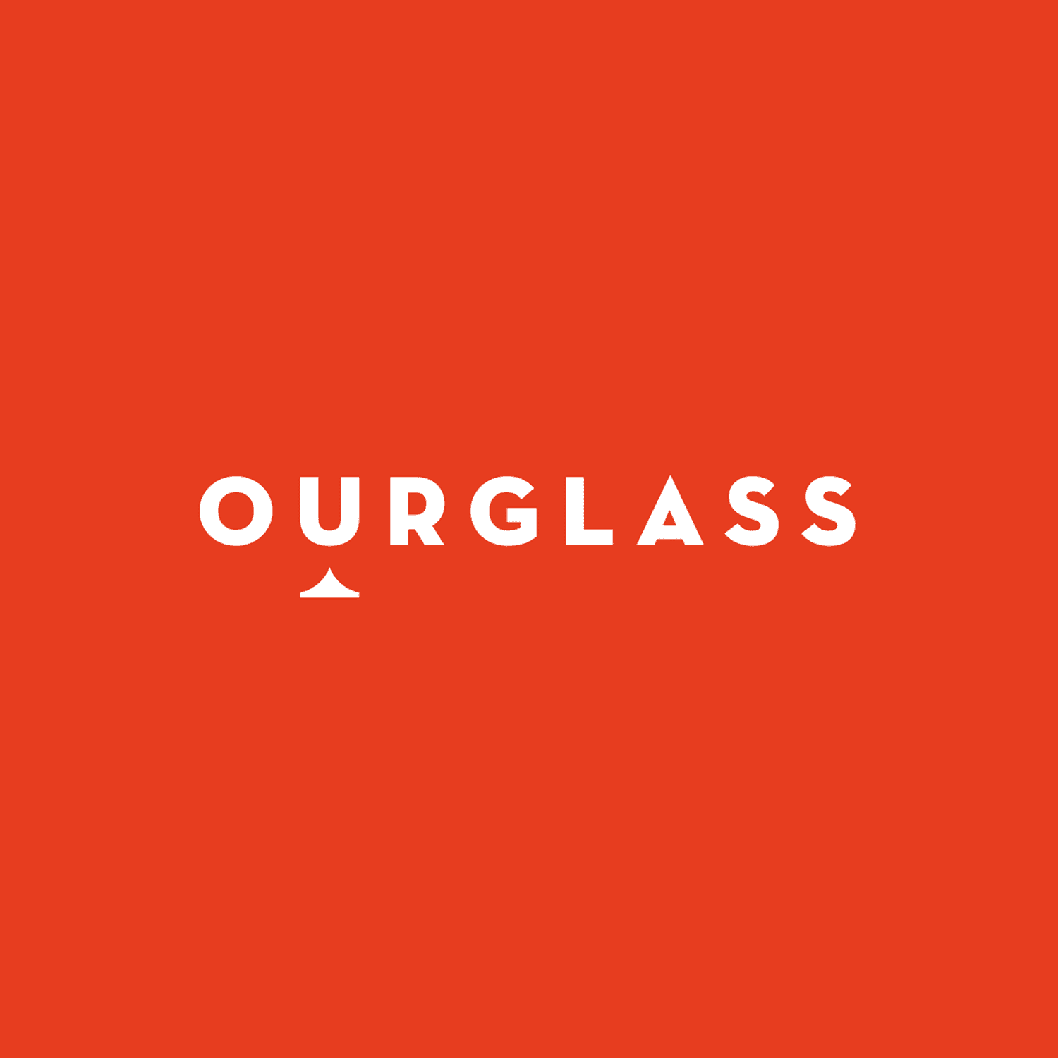 Ourglass branding and website