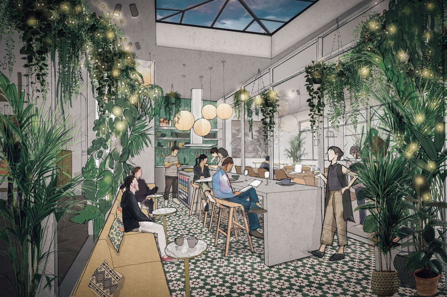 Co-working/Co-living Amsterdam