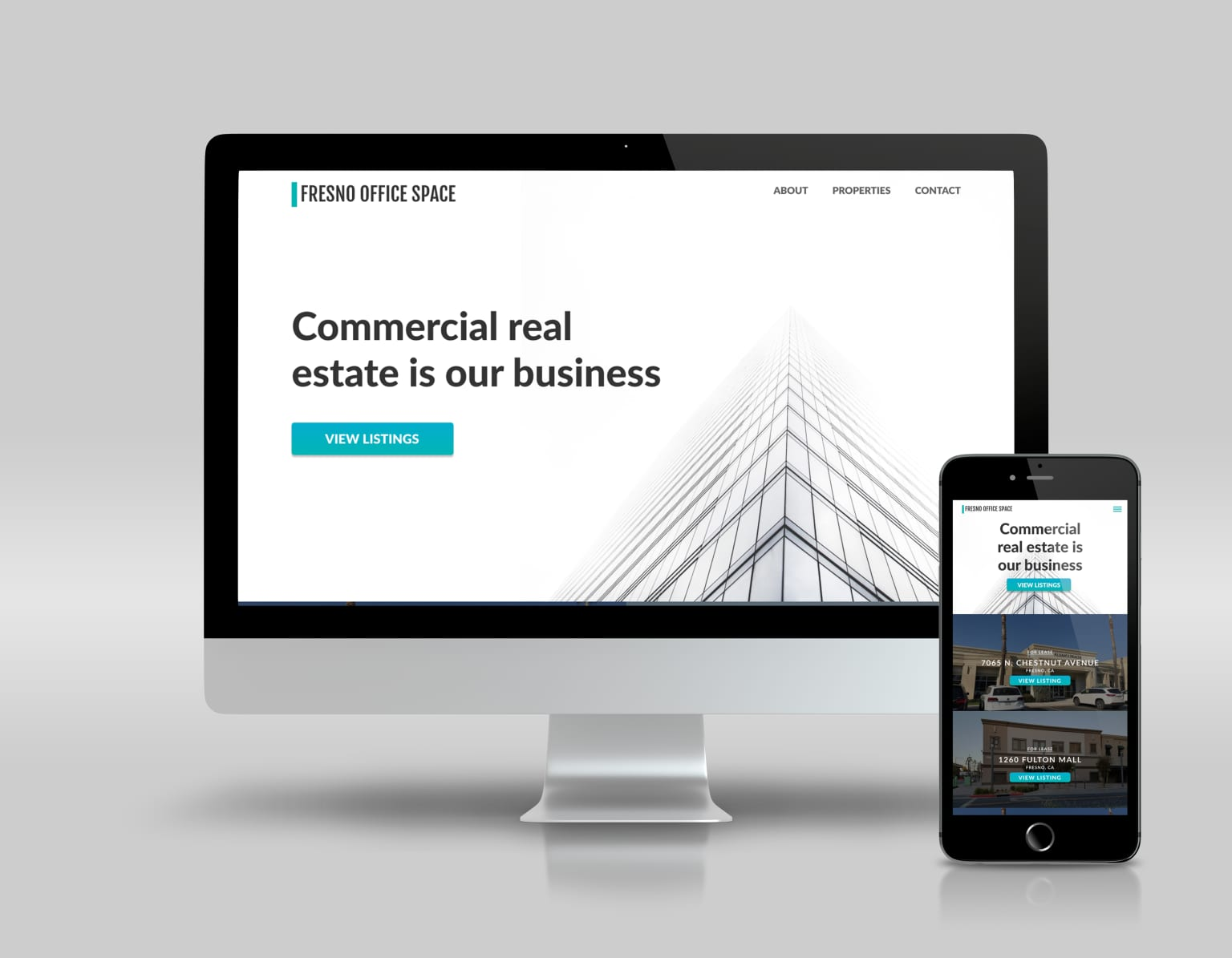 Fresno Office Space Landing Page