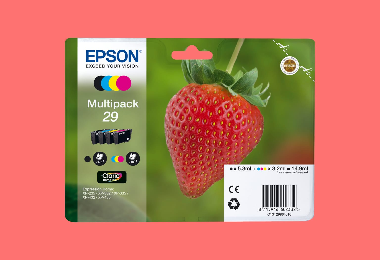Epson Ink packs