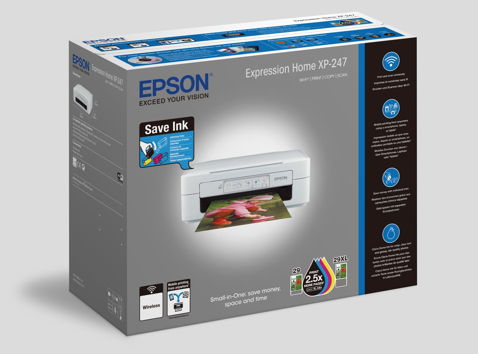 Epson XP-247 packaging