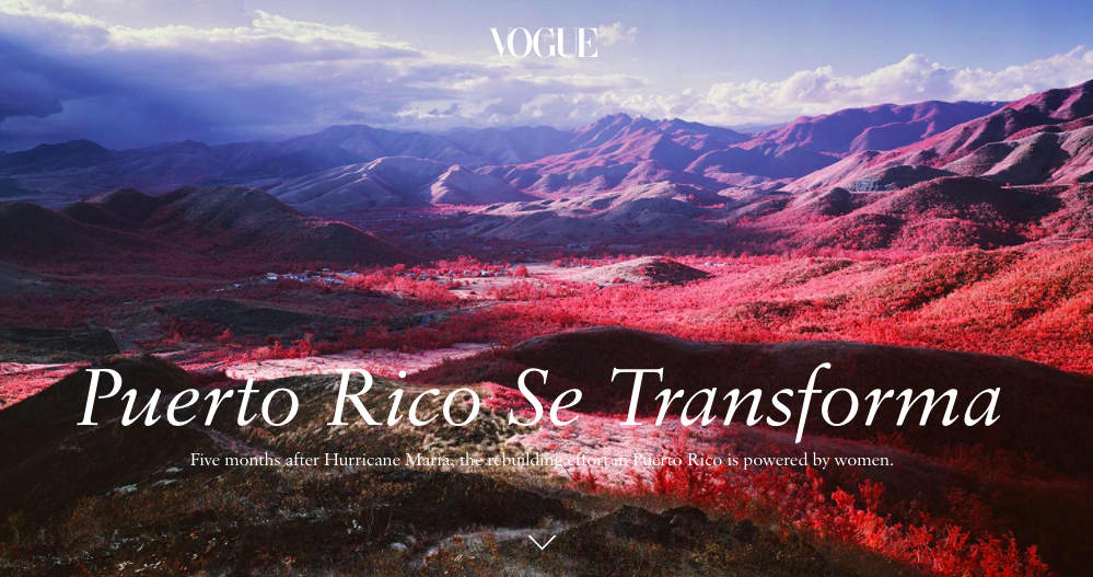 Puerto Rico Se Transforma for Vogue Magazine
