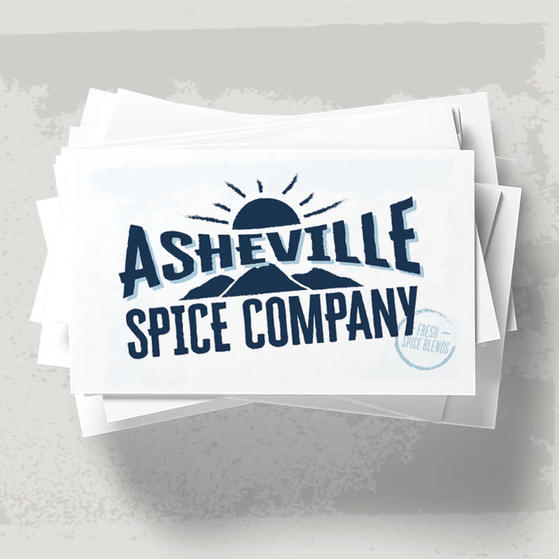 Asheville Spice Company branding & packaging