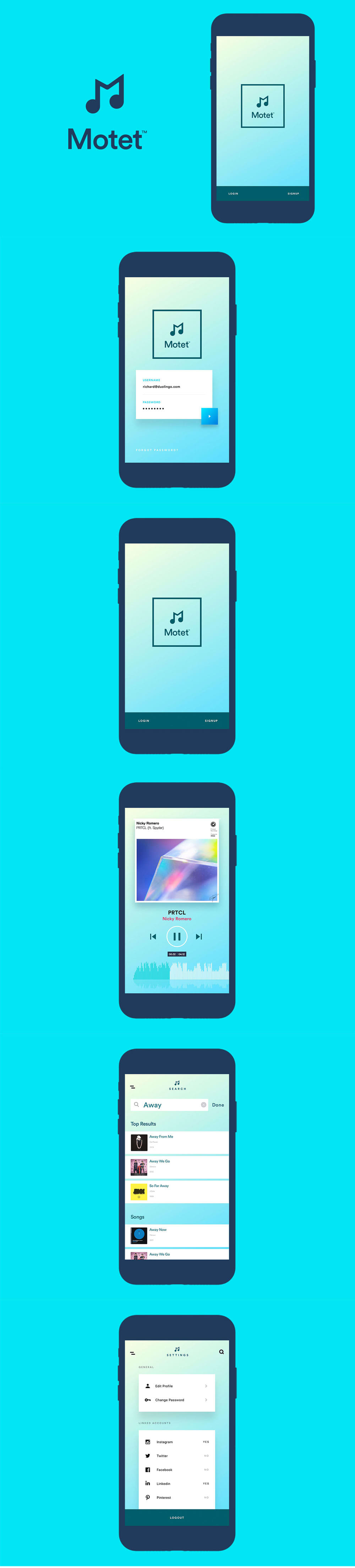 Motet - Music App UI