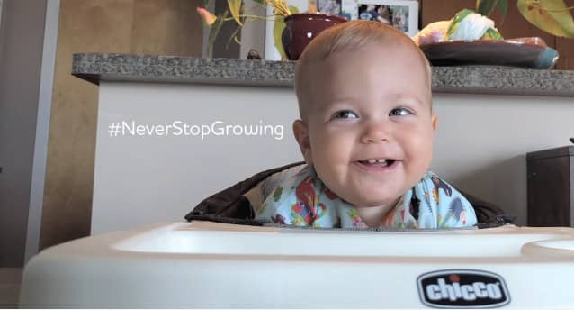 Chicco Video - Never Stop Growing