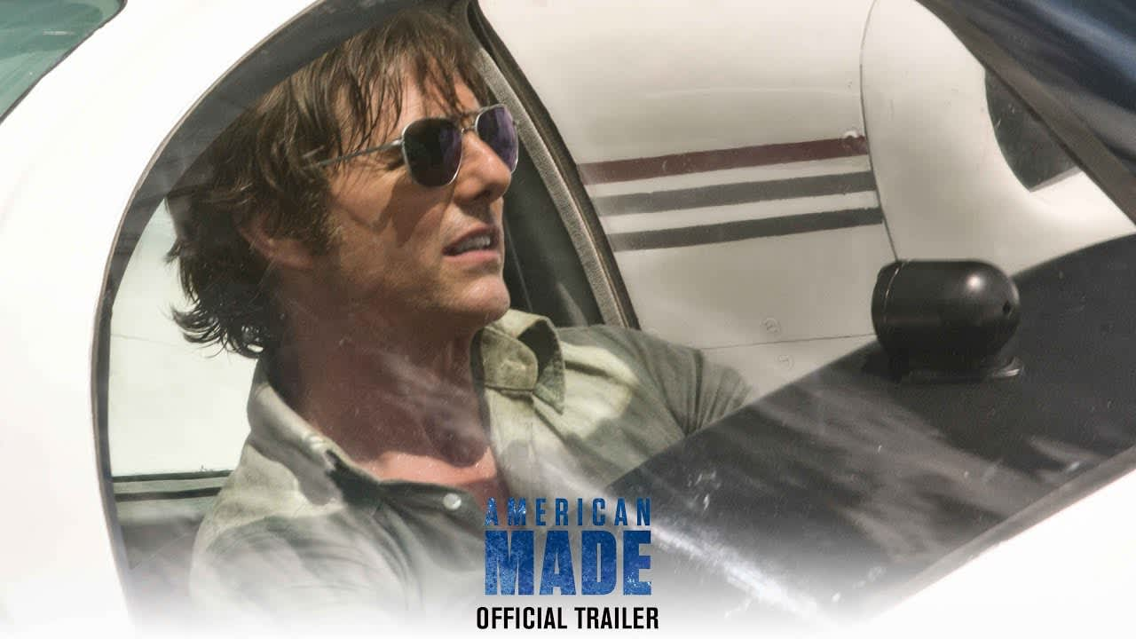 Tom Cruise's American Made Film Trailer