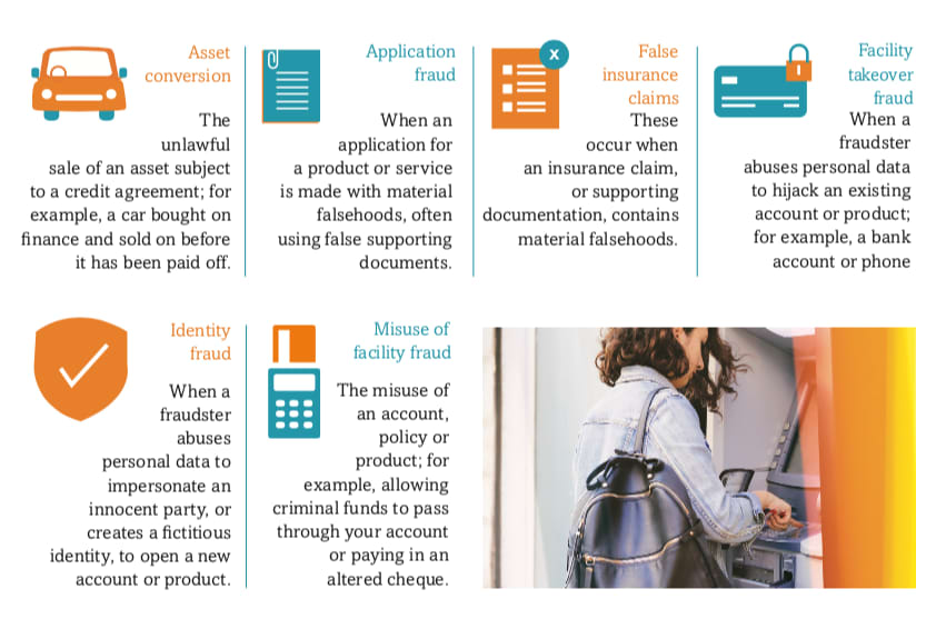 Booklet and infographics design for Cifas