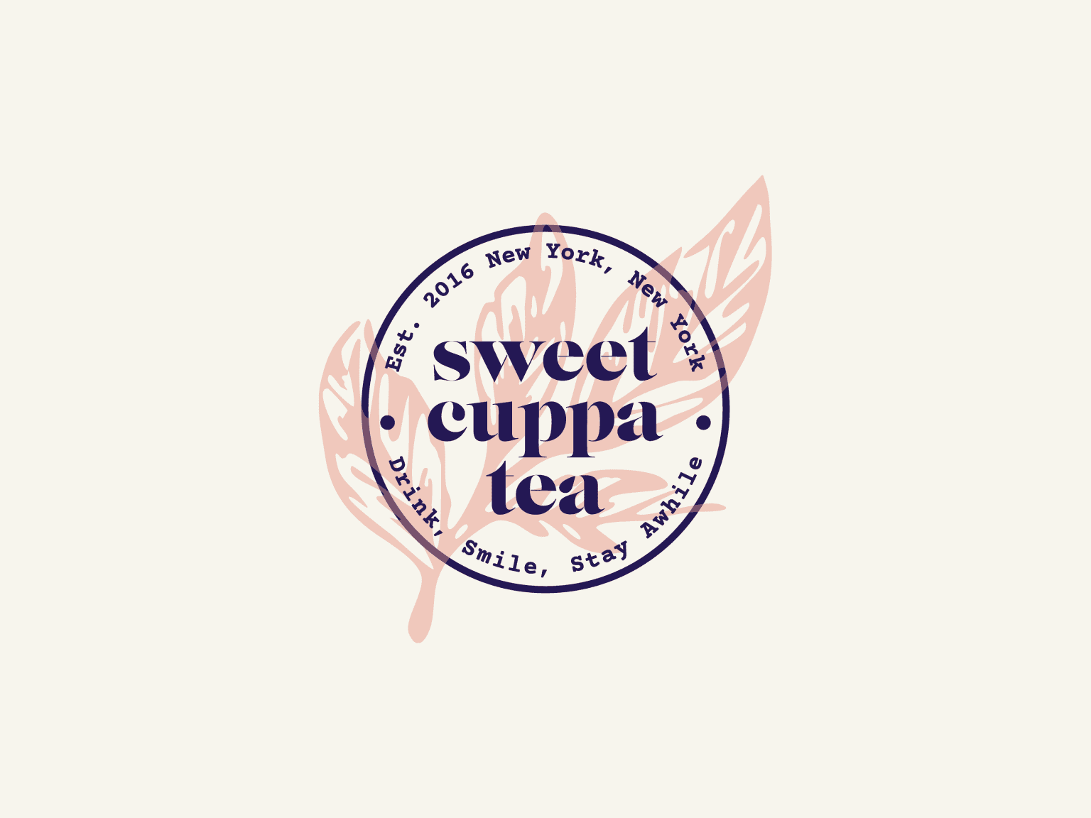 Brand Identity and Art Direction for Sweet Cuppa Tea Co.