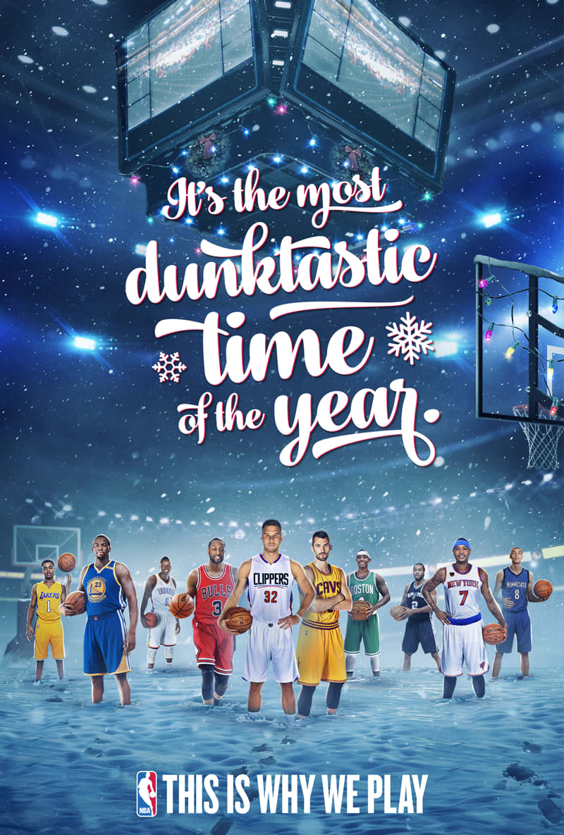 NBA - The Most Dunktastic Time of the Year