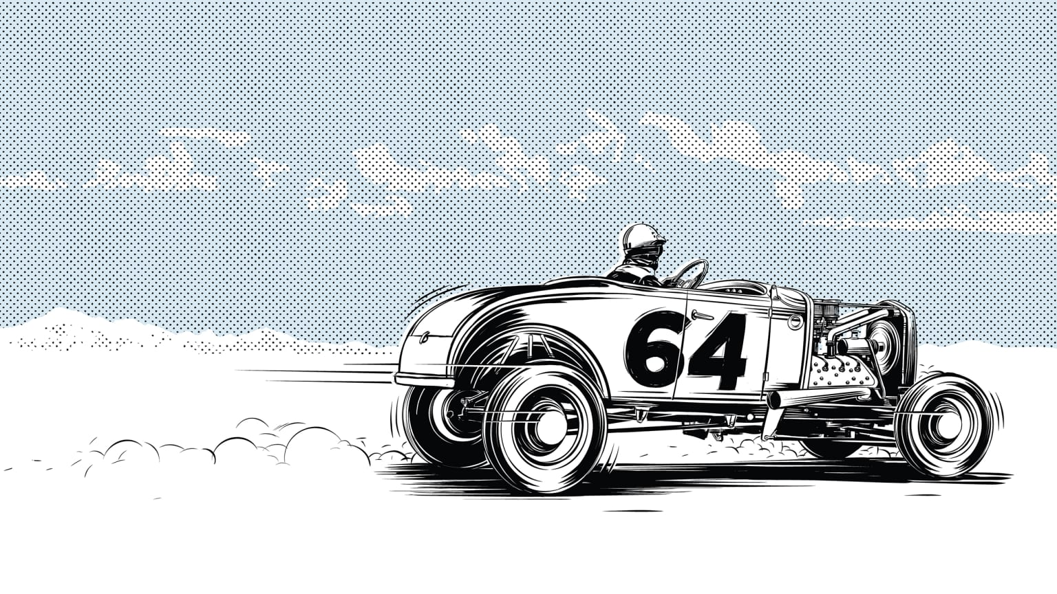 Speed & Style Personal Illustration