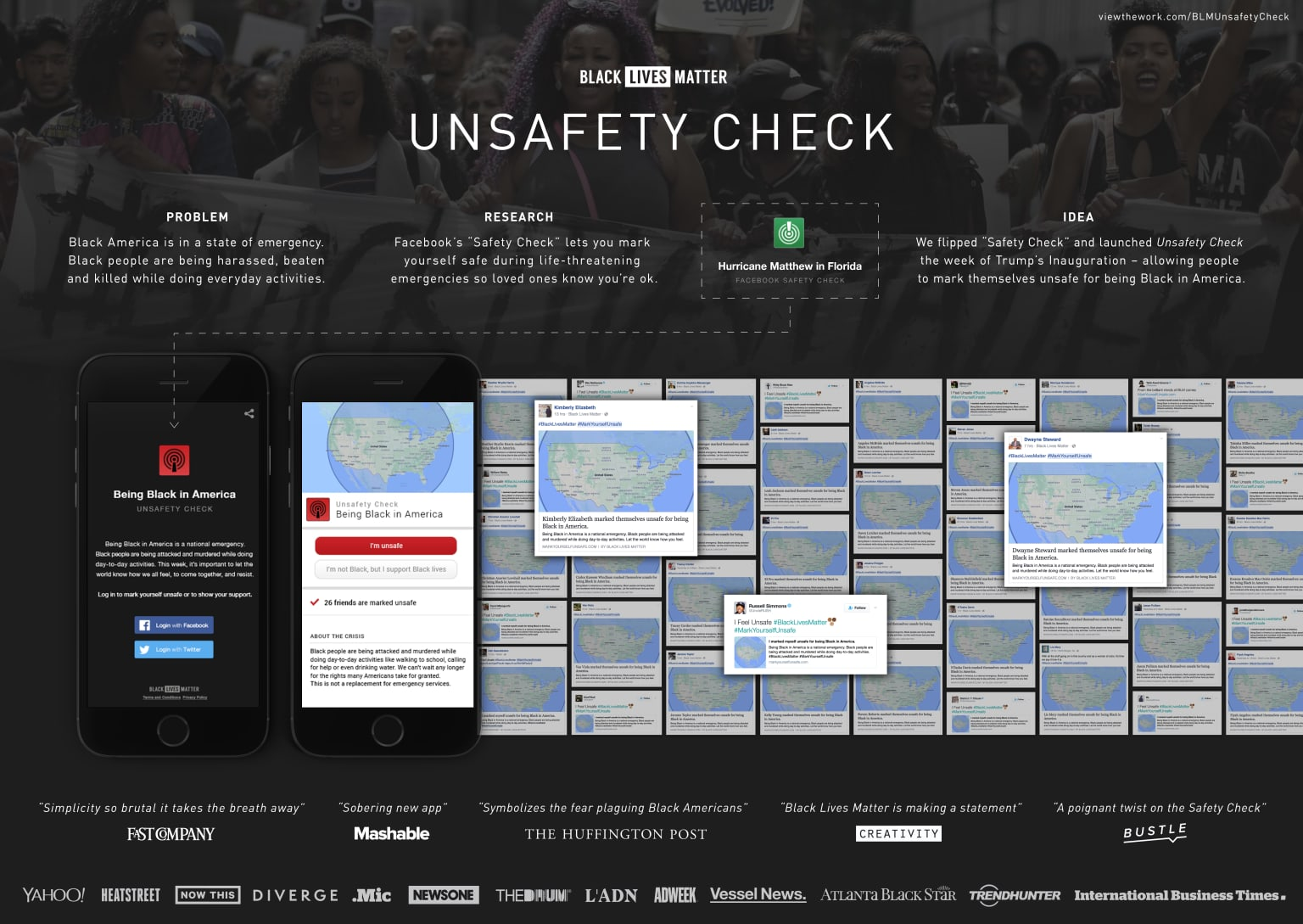 "Black Lives Matter's ""Unsafety Check"""
