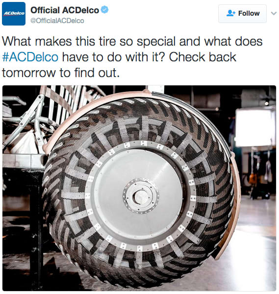 """ACDelco """"Over the Moon"""" video and digital support"""