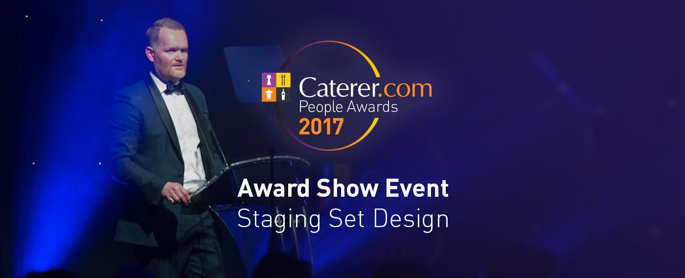 Caterer.com People Awards - Staging & Motion Graphics