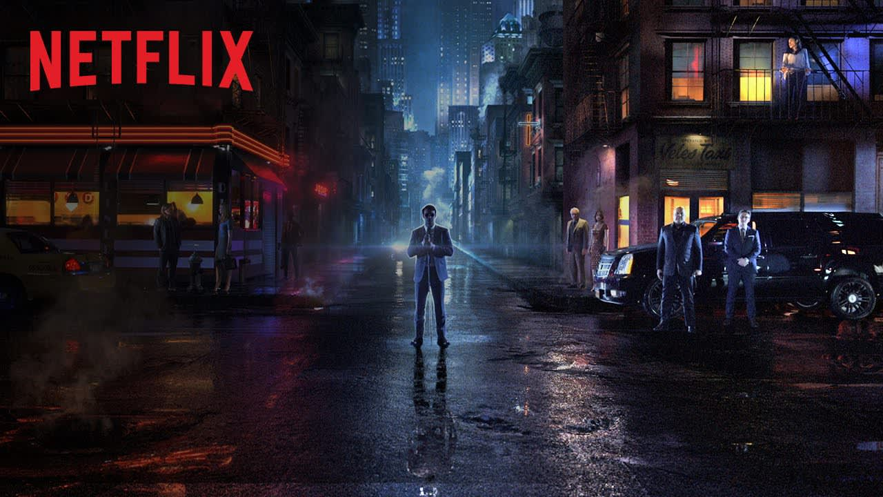 Netflix's Daredevil + Jessica Jones