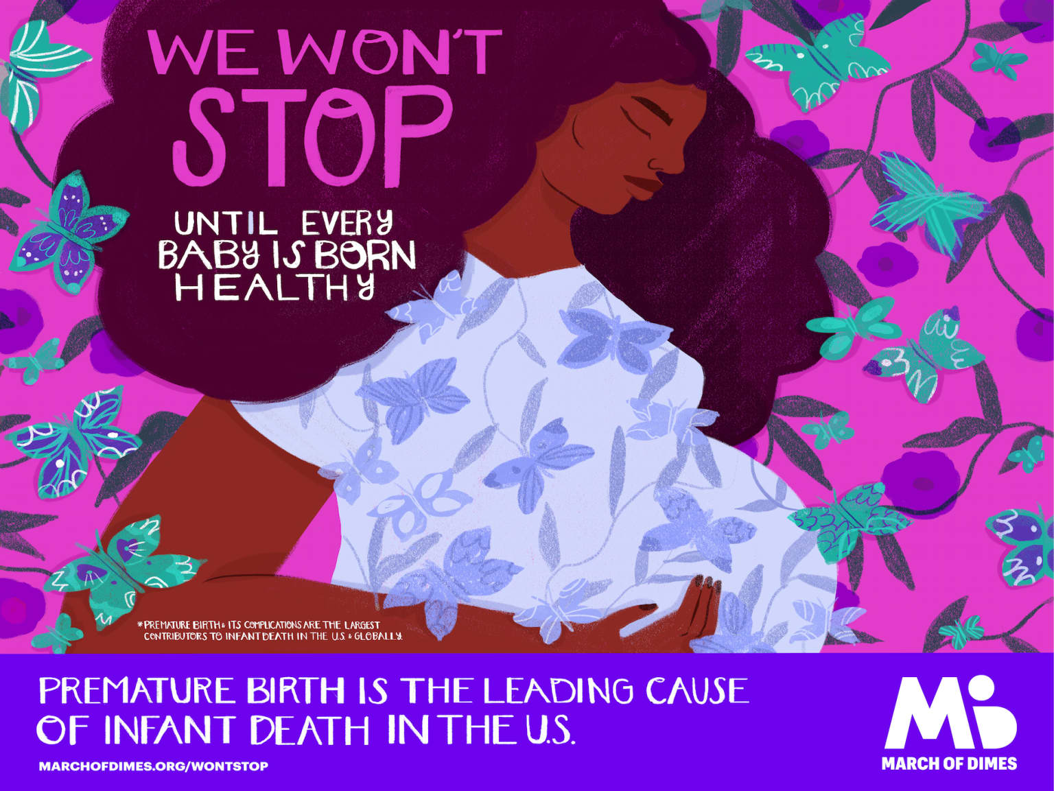 March of Dimes: Won't Stop