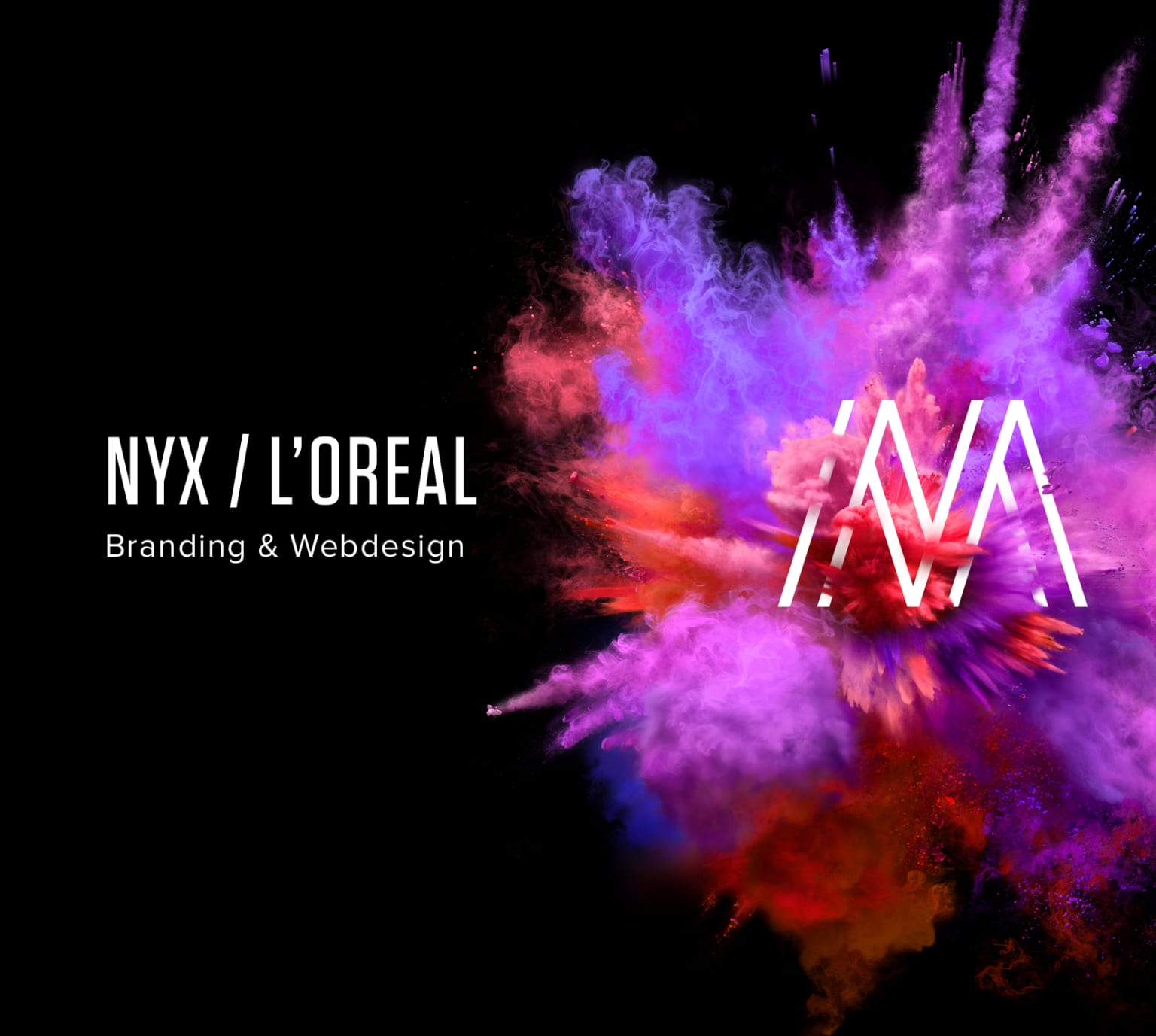 NYX Masterclass / Branding and Webdesign