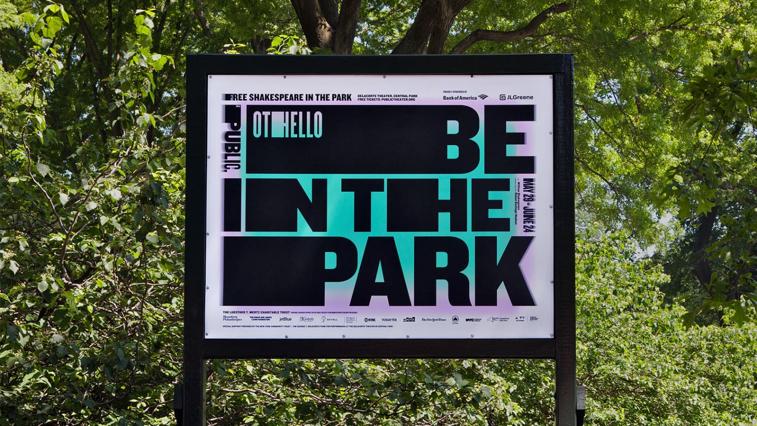 Shakespeare in the Park 2018